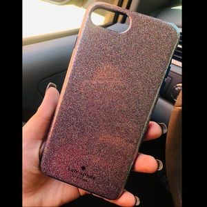 Kate Spade iPhone 8 Plus Case Multiglitter
